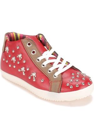 Polaris 52.505609.F Kırmızı Kız Çocuk Ayakkabı