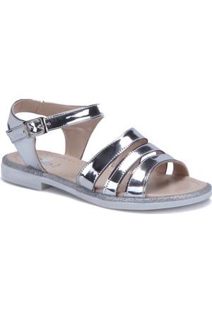 Seventeen 60895 Gümüş Kız Çocuk Sandalet