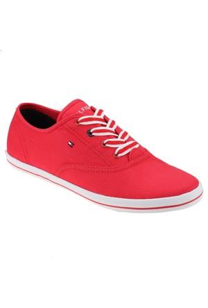 Tommy Hilfiger Victoria 1D Kırmızı Kadın Sneaker Ayakkabı