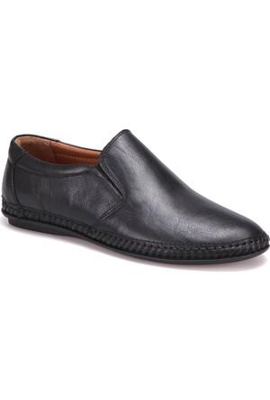 Polaris 5 Nokta 71.108845.M Siyah Erkek Deri Klasik Ayakkabı