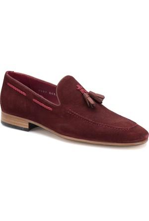 Cordovan 7487 Bordo Erkek Deri Modern Ayakkabı