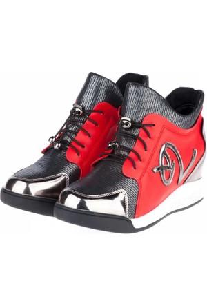 Guja Kadın Günlük Ayakkabı Kırmızı