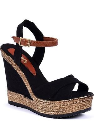Sapin 25935 Kadın Sandalet Siyah