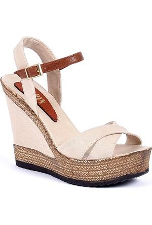 Sapin 25935 Kadın Sandalet Bej