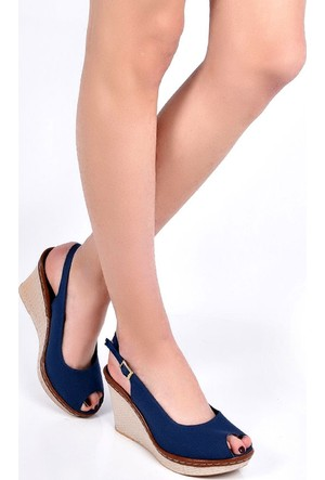 Sapin 25936 Kadın Sandalet Mavi