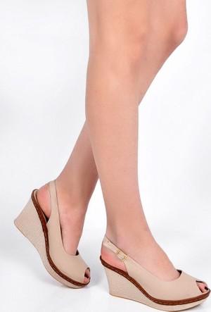 Sapin 25936 Kadın Sandalet Bej