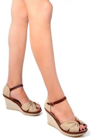 Sapin 25937 Kadın Sandalet Bej