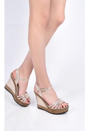 Sapin 25939 Kadın Sandalet Ekru