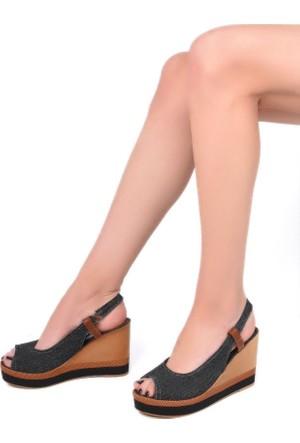 Sapin 35729 Kadın Sandalet Siyah