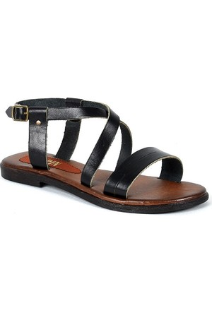 Sapin 25999 Kadın Sandalet Siyah