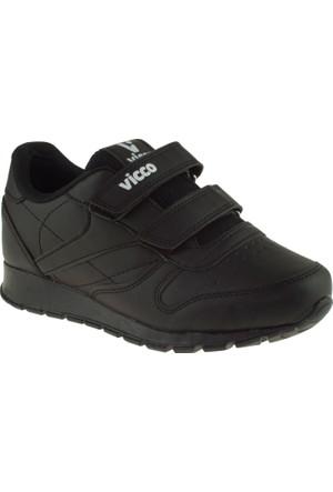 Vicco 938.V.149 Erkek Çocuk Siyah Ayakkabı