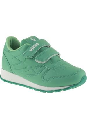 Vicco 938.V.149 Erkek Çocuk Yeşil Ayakkabı