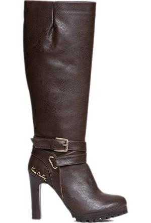 Pierre Cardin Kadın Çizme Kahverengi