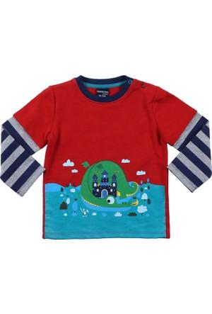 Wonder Kids Erkek Bebek Uzun Kollu T-Shirt