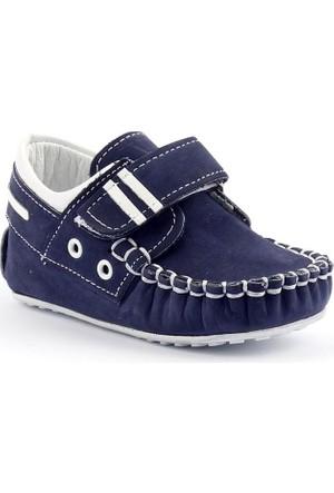 Teo Bebe 3600 %100 Deri Ortopedik Cırtlı Erkek Çocuk Ayakkabı