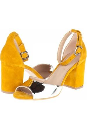Primo Passo Aktenli Kadın Topuklu Sandalet A162Kakt00251855
