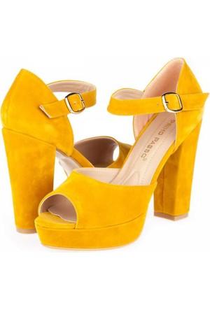 Primo Passo Tübu Kadın Platform Topuklu Ayakkabı A172Ytğb00071079
