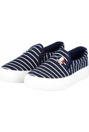 U.S. Polo Assn. Kız Çocuk Sneakers Ayakkabı A17Fyuspl0002007
