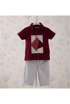 Monna Rosa Grafik Tshirt Şort Takım