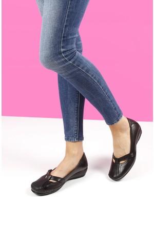 Gön Deri Kadın Ayakkabı 35248