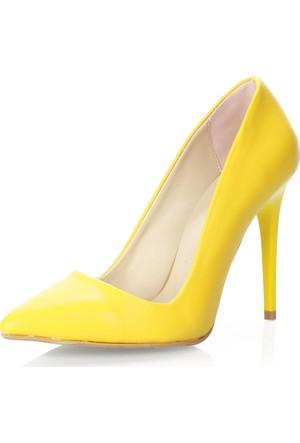 Waito 16Ywc001R Sarı Rugan Ayakkabı