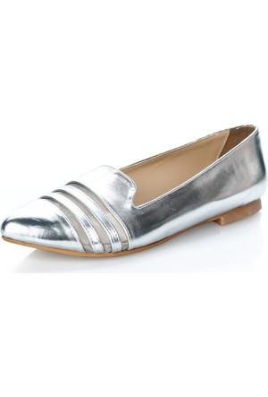 Atılım 1983 Gümüş Rugan Ayakkabı
