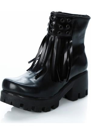 Mag Shoes 040 Uzun Rugan Puskullu Ayakkabı