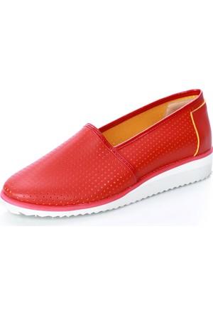Mag Shoes 005 Kırmızı Ayakkabı