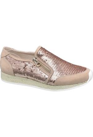 Graceland Kadın Pembe Bağcıksız Ayakkabı