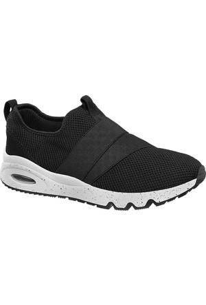 Graceland Kadın Slip On Ayakkabı Siyah