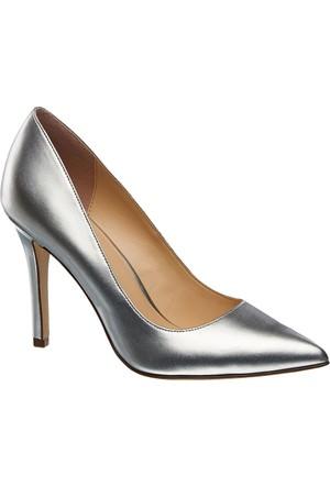 Graceland Kadın Topuklu Ayakkabı Gümüş