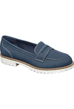 Graceland Kadın Mavi Kolej Ayakkabısı