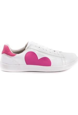 Kemal Tanca Kadın Sneaker Ayakkabı Beyaz