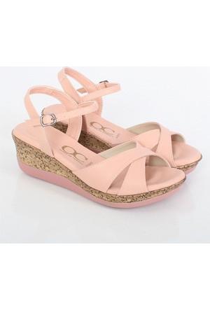 Kayra Pudra Dolgu Topuk Kadın Sandalet 03