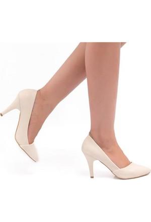 Oc Bonni Ten Sivri Topuklu Kadın Stiletto 500