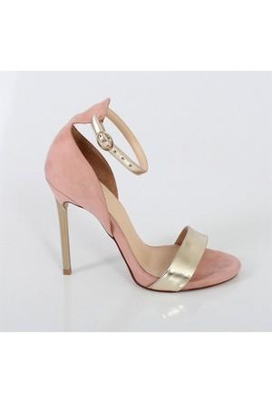 Lonar Pudra İnce Topuklu Kadın Ayakkabı 531