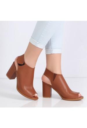 Feminanttaba Topuklu Kadın Sandalet 5023