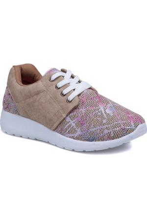 Carmens U1100 Turuncu Mavi Kadın Sneaker Ayakkabı