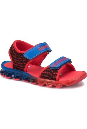 Kinetix Rumyal Lacivert Kırmızı Koyu Mavi Erkek Çocuk Sandalet