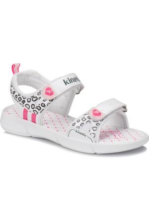 Kinetix Separ Beyaz Pembe Kız Çocuk Sandalet