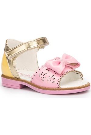 Pink Step Riri Beyaz Kız Çocuk Sandalet