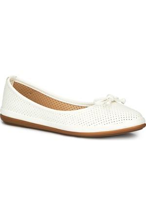 Polaris 71.155537.Z Beyaz Kadın Ayakkabı