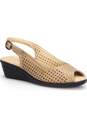 Polaris 71.157326.Z Vizon Kadın Sandalet