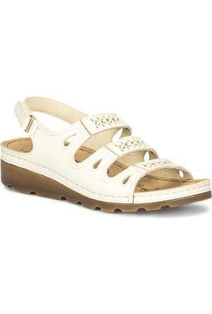 Polaris 71.157357.Z Bej Kadın Sandalet