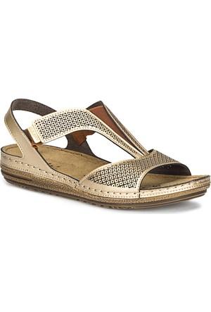 Polaris 71.157369.Z Altın Kadın Sandalet