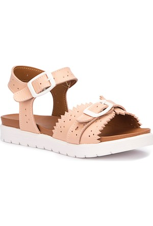 Polaris 71.509143.F Pudra Kız Çocuk Sandalet