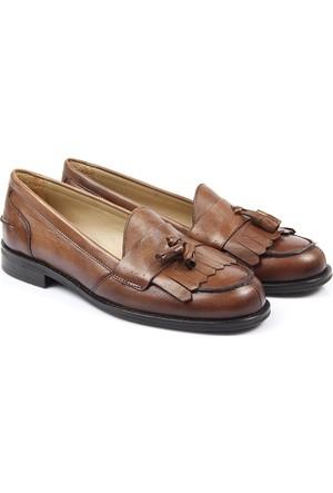 Gön Deri Kadın Ayakkabı 21185