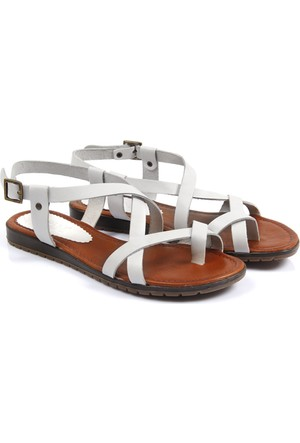 Gön Deri Kadın Sandalet 45011