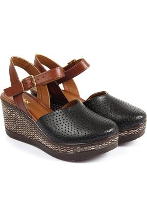 Gön Deri Kadın Sandalet 45401
