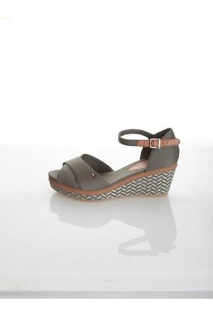 Tommy Hilfiger Kadın Sandalet Fw0Fw00372 011 E1285Lba 31D